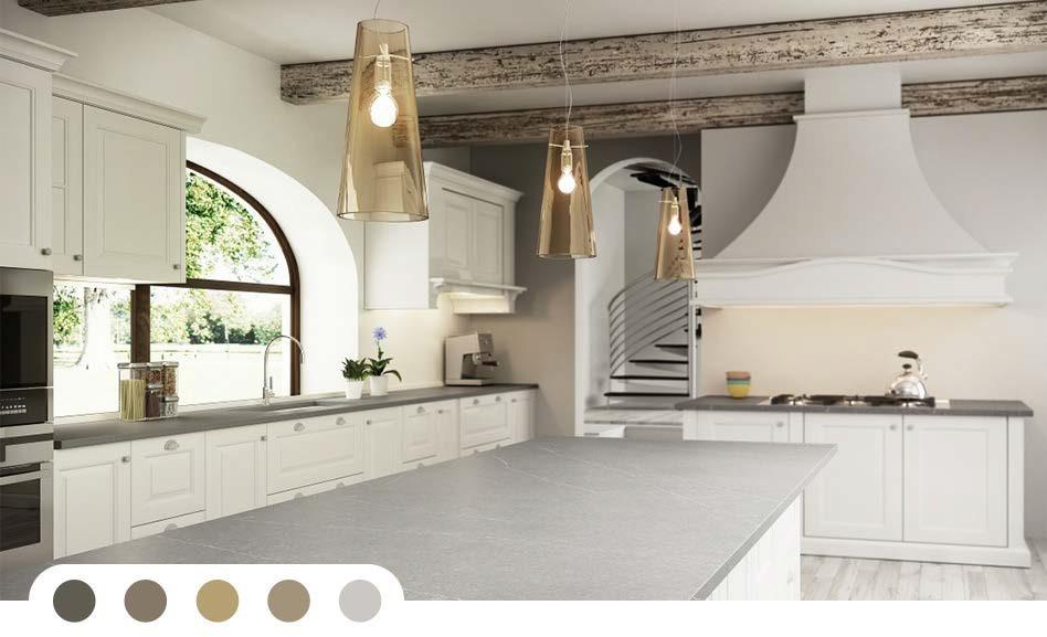 Geef kleur aan uw keuken keukens de abdij - Kleur verf moderne keuken ...