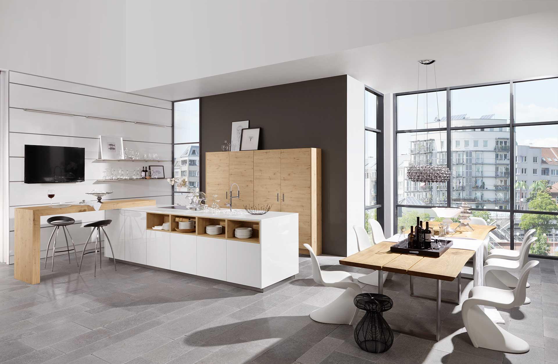 Moderne keuken in Scandinavische stijl   Keukens De Abdij
